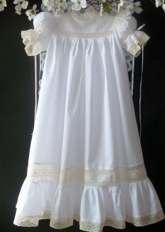 Handmade Girl S Heirloom Dress And Slip Portrait Dresses