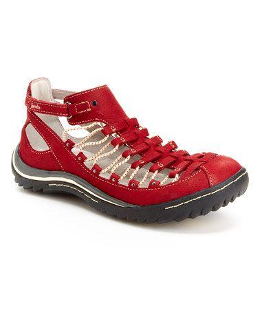 Another great find on #zulily! Red Bondi Leather Sandal #zulilyfinds♥✤ |☮boho╰☆╮☮✿⊱╮☮╰☆╮☮❤╰☆╮✿⊱╮❤☮❤╰☆╮❤☮@tonjaamenra