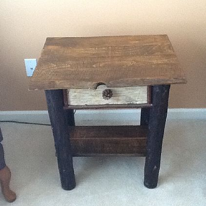 Adirondack Style End Table Furniture Livingrecden For In Porter Corners Ny A00042 Want Ad Digest Clified Ads