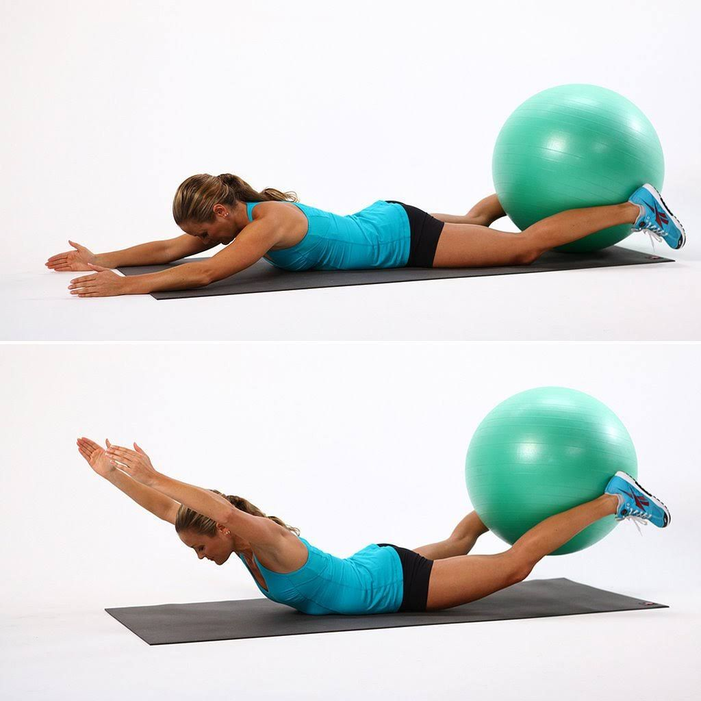 Stability Ball Moves: Tone Your Muscles Faster With These Stability-Ball Moves