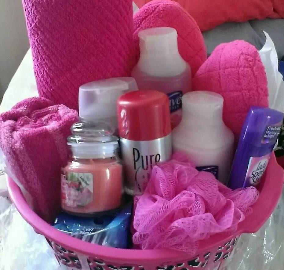 sweet 16 all purple basket gift ideas pinterest sweet 16