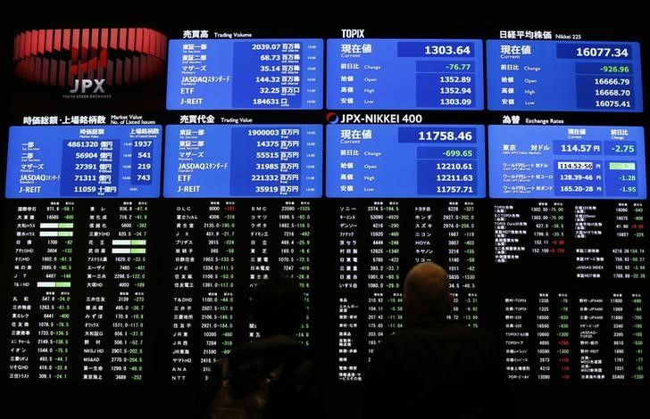 Asia Shares Stumble From Decade Highs Oil Hits Two Year Top On