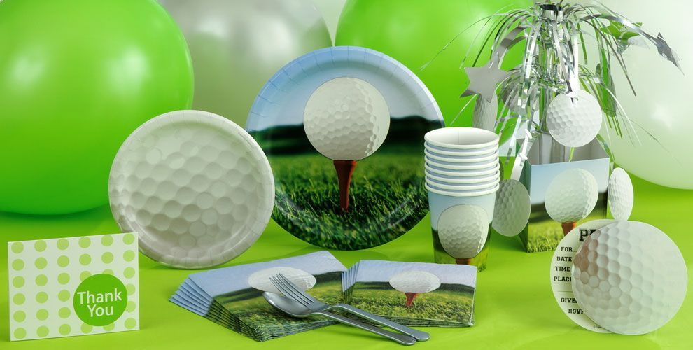 Golf Themed Party Decorating Ideas Part - 45: Score A Hole In One With Hole Golf Party Supplies! Find Your Golf  Invitations, Golf Decorations, Golf Party Favors, Cake Toppers, And More.