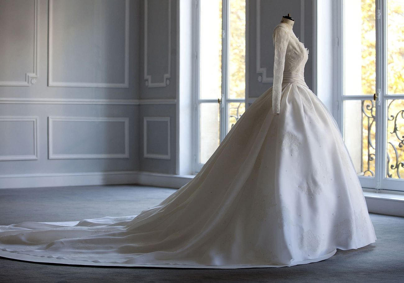 Image result for Christian Dior bridal gown