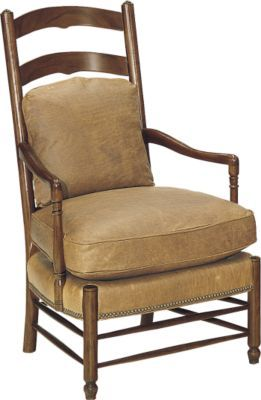 Ladder Back Chair From The Archive Collection By Hickory Furniture Co