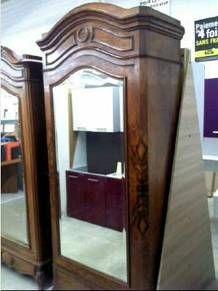 Bonnetiere Antique Mirror Bevelled Forbach Mobilier De Salon Buffet Meuble Vente Meuble