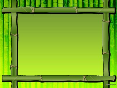 Green Bamboo Frame PPT Backgrounds Border and Frames PPT Pinterest - new jungle powerpoint template
