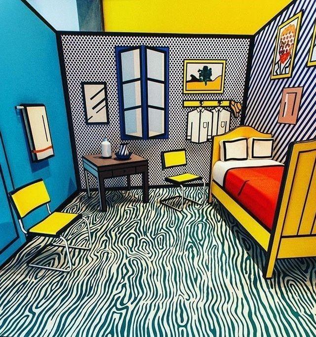 Bedroom At Arles Lichtenstein