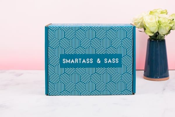 Smartass & Sass Theme Spoiler December 2019 - A gift and subscription service for snarky individuals and cynical a**holes.