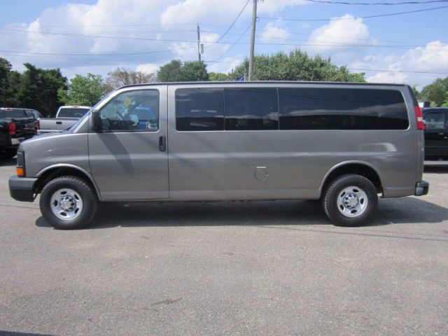 Used 2010 Chevrolet Express Ls 3500 Extended For Sale In Smithfield Nc 27577 Landmark Auto Inc Chevrolet 15 Passenger Van Expressions