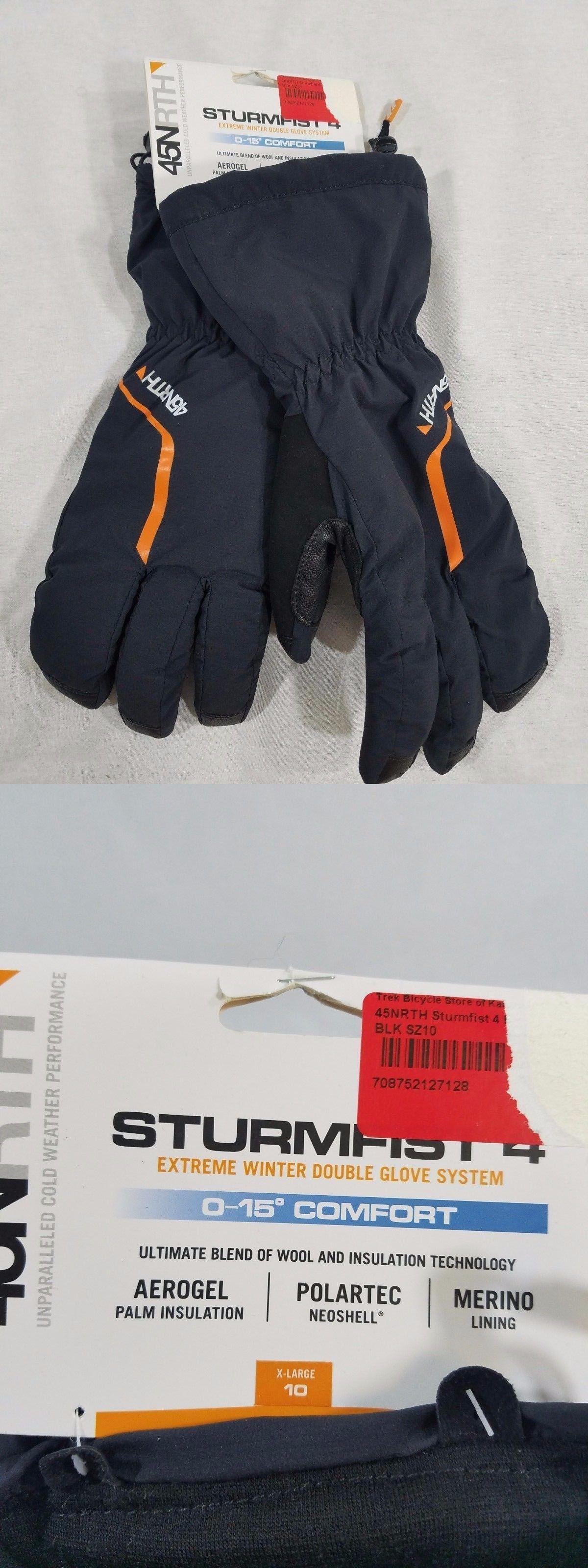 Gloves north sturmfist winter cycling gloves size x