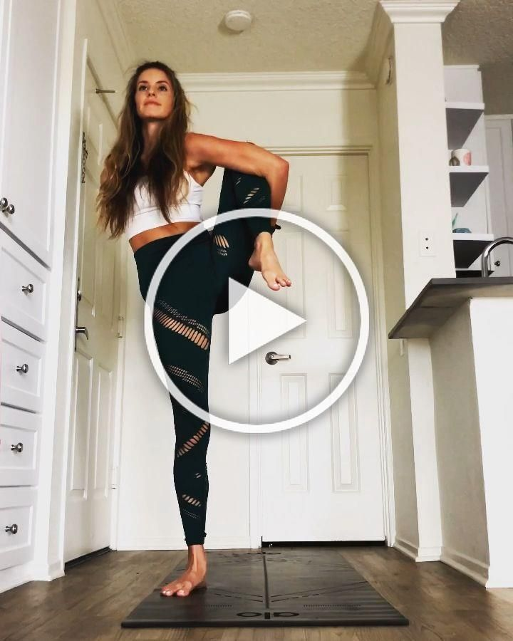 Yoga flow at home @yoga_ky  -  fitness motivation - #fitness #fitnessmotivation #Flow #Home #motivat...