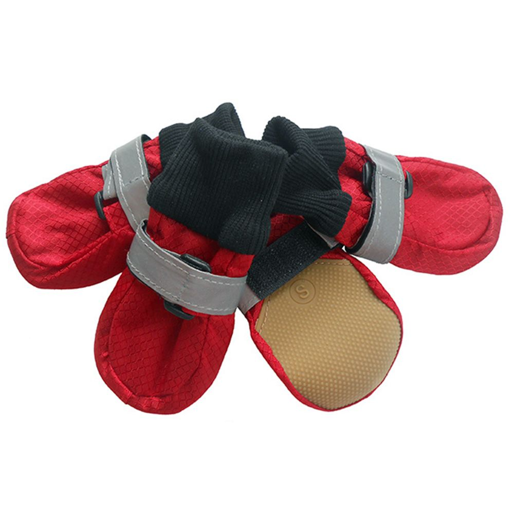f837f507c8b Medium dog shoes large pet shoe Waterproof Nylon flattie Polar ...