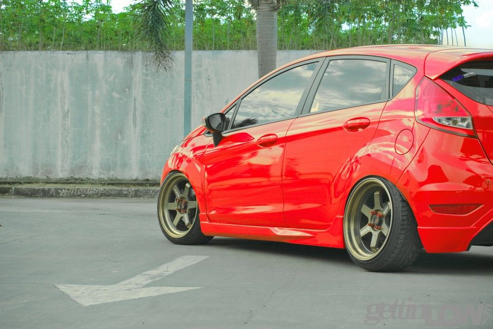 Real Red Ford Fiesta Ford Fiesta Ford Hot Hatch