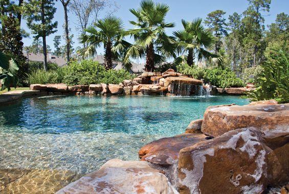 Great tropical pool design. | I wanna ROCK | Pinterest | Tropical ...