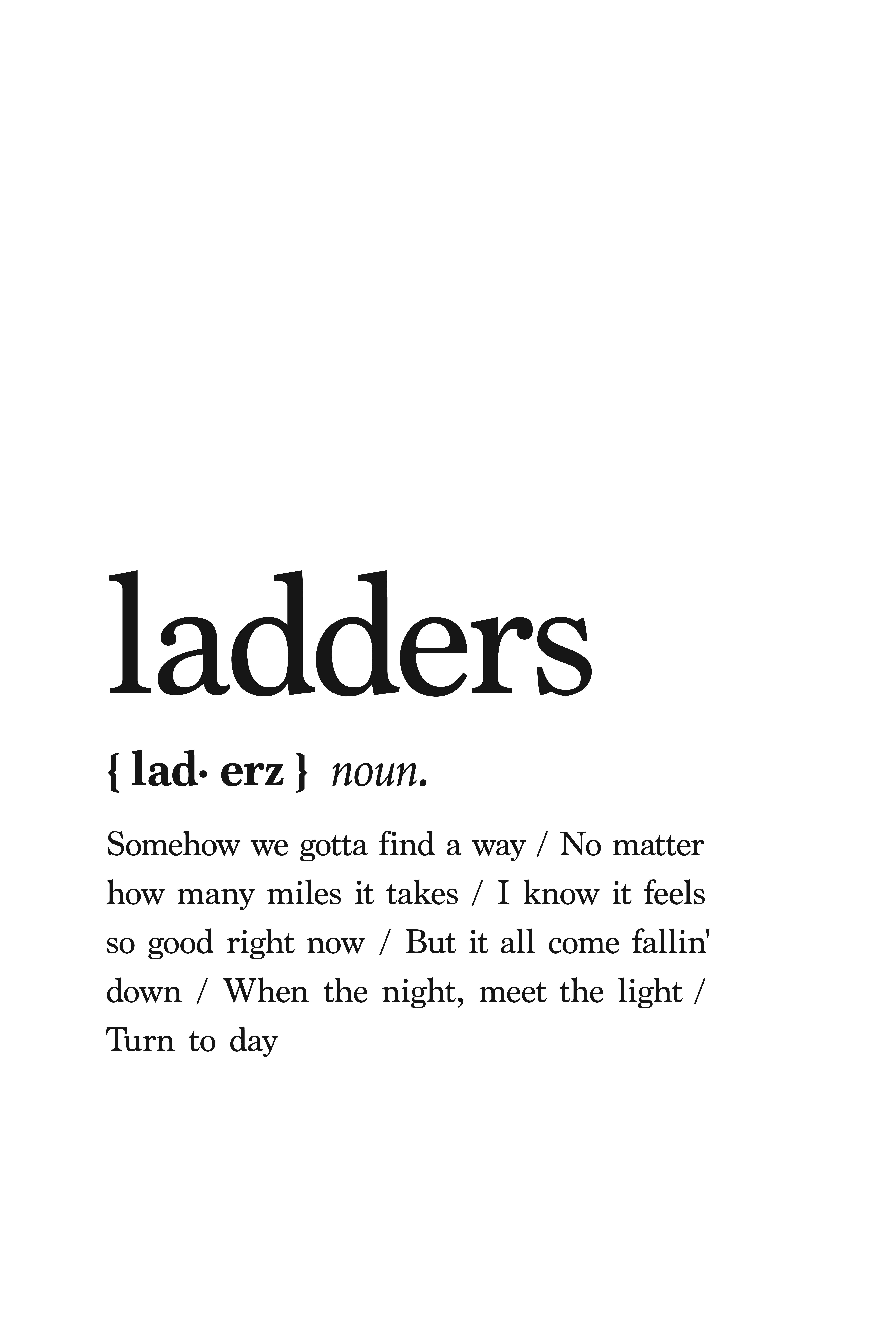 Mac Miller printable lyrics poster