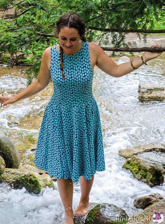 Kleider nähen - Die 5 besten Sommerkleider zum Nähen für Frauen
