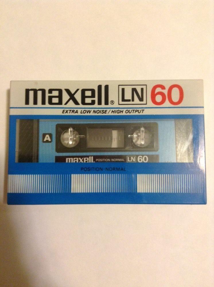 MAXELL LN   90    BLANK CASSETTE TAPE SEALED 1