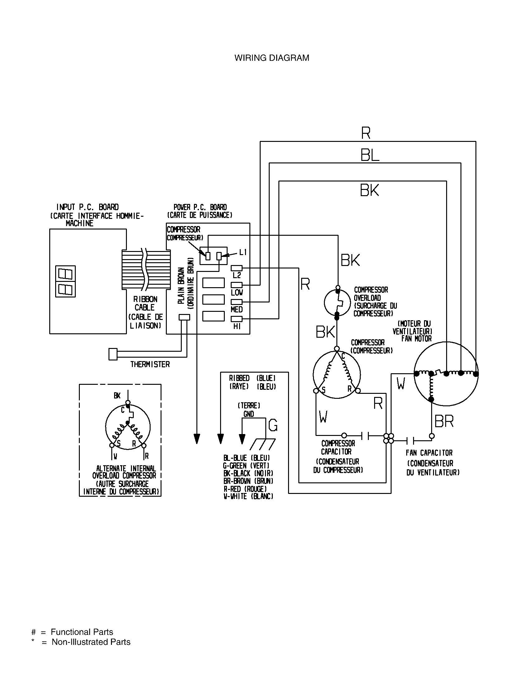 Air Conditioner Wiring Diagram Capacitor in 2020 Diagram