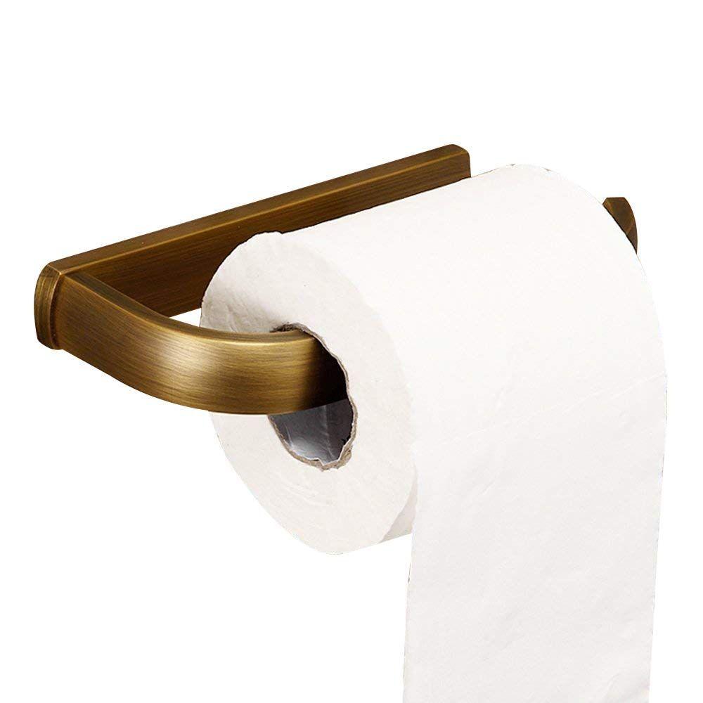 Amazon Com Leyden Retro Bathroom Accessories Solid Brass Antique Brass Finished Toilet Roller Pap Brass Toilet Paper Holder Towel Holder Bathroom Paper Holder