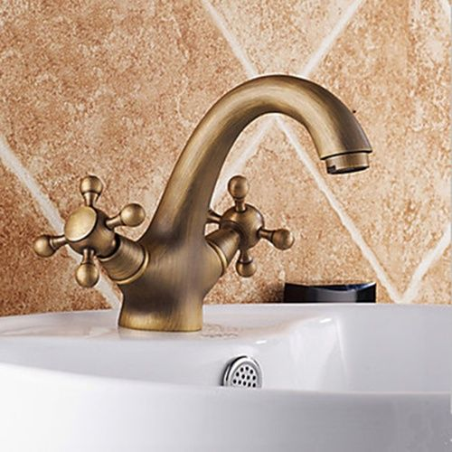 Antique Inspired Bathroom Sink Faucet -- Faucetsmall Bathroom