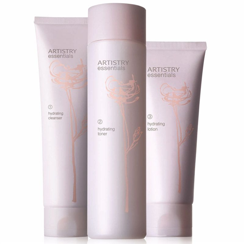 Artistry essentials hyrdrating system offers highly