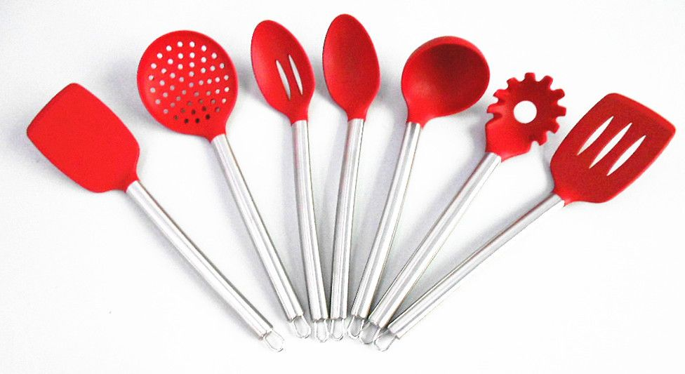 Ordinaire Wholesale Shipping 7 Piece Silicone Cooking Tools Kitchen Utensils Set Home  U0026 Garden