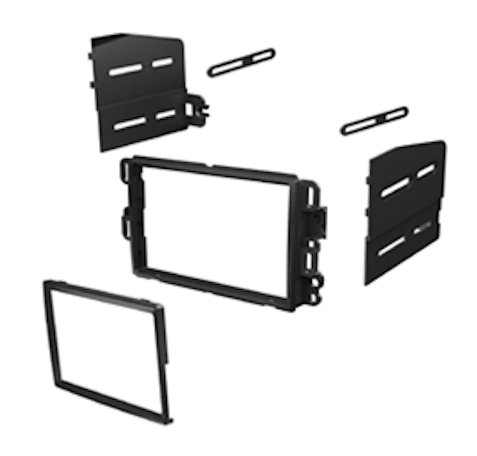 Imc Audio Double Din Dash Kit For Aftermarket Radio Installation Wiring Supplies Buick Chevy Gmc Hummer Pontiac Saturn Suzuki