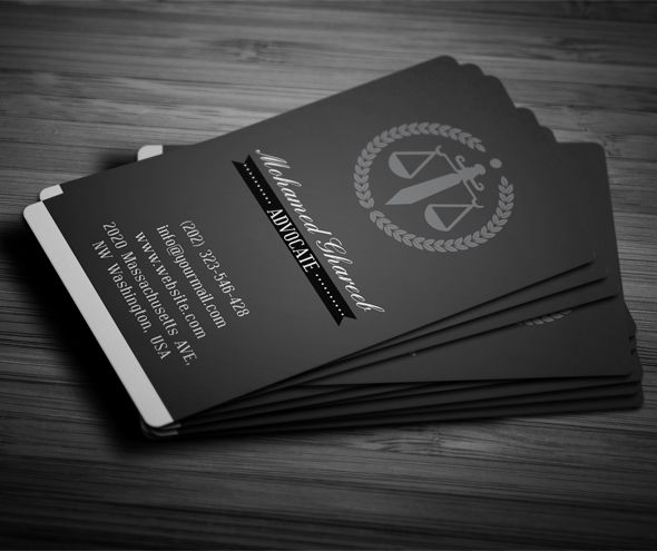 Editable Print Ready Creative Lawyer Business Card Lawyer Business Card Attorney Business Cards Graphic Design Business Card