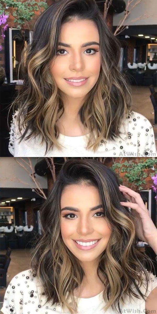Unique Partial Shoulder Curls Big Wave Gradient Brown Hair Wig – Unique Partial …