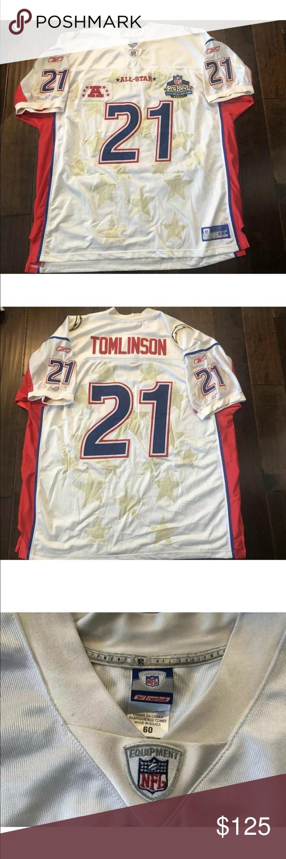 finest selection 857eb fe462 LaDainian Tomlinson Chargers 2003 Pro Bowl Jersey LaDainian ...