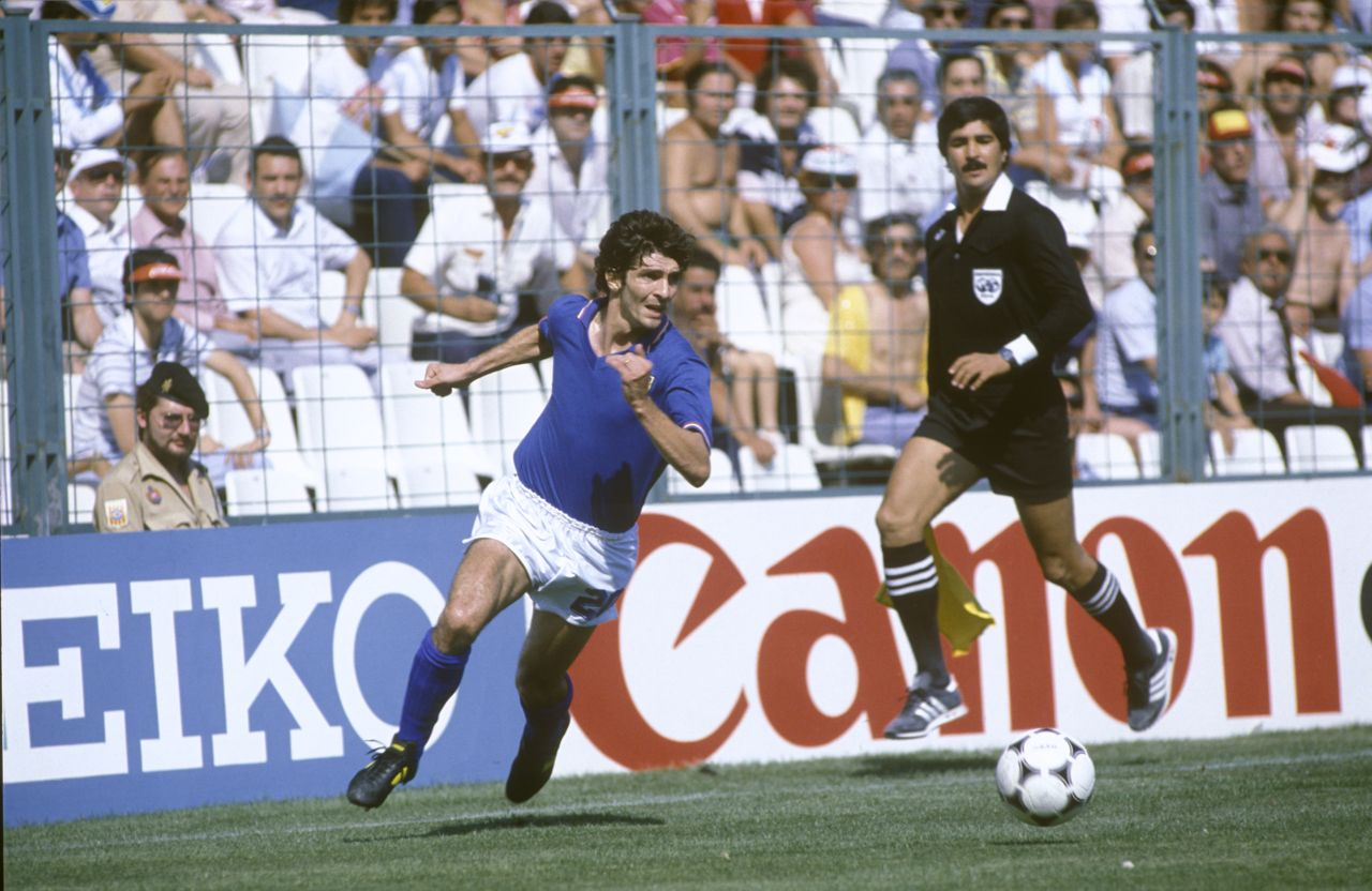 Paolo Rossi Italie 1982
