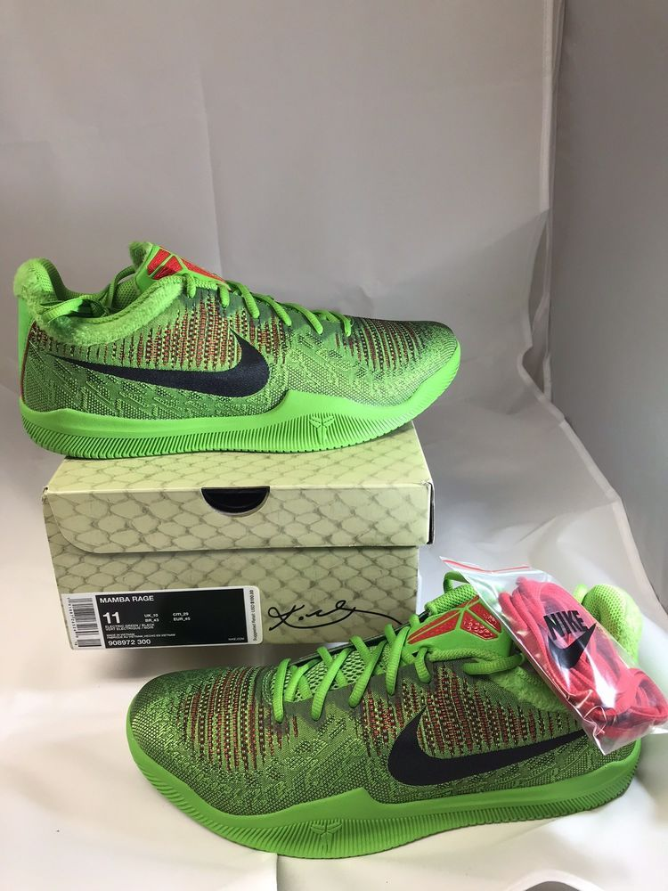 ca615148013 Nike Mamba Rage Grinch Size 11  fashion  clothing  shoes  accessories   mensshoes  athleticshoes (ebay link)