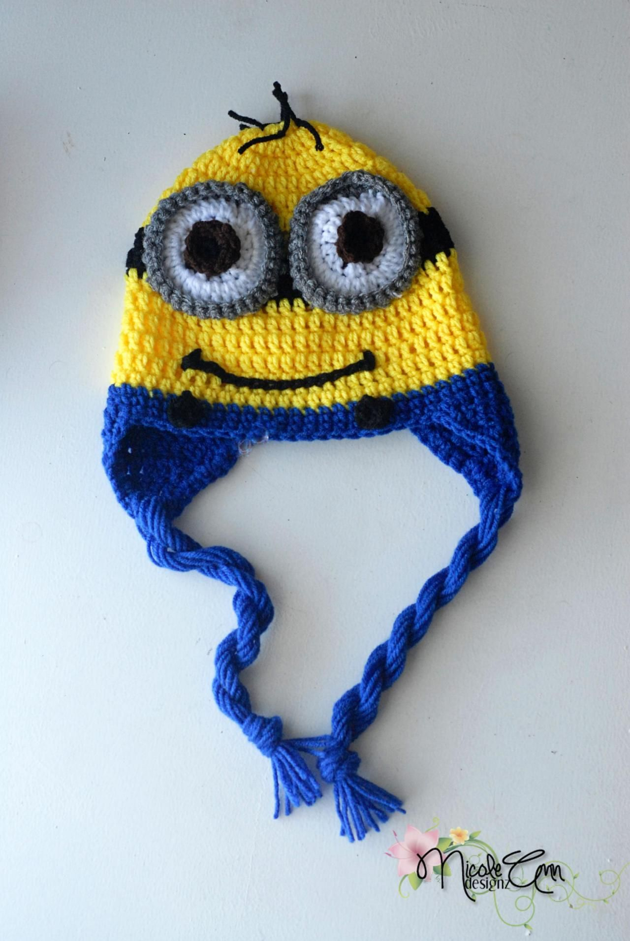 Minion  2 Moda Crochet 47f89c5ab8d