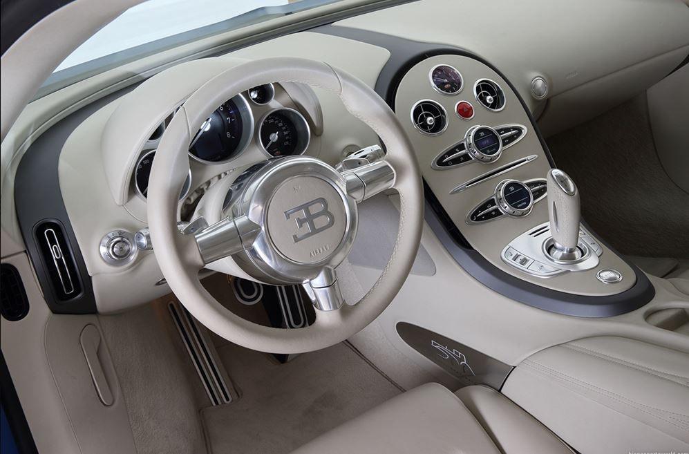 2009 Bugatti Veyron 16.4 Bleu Centenaire