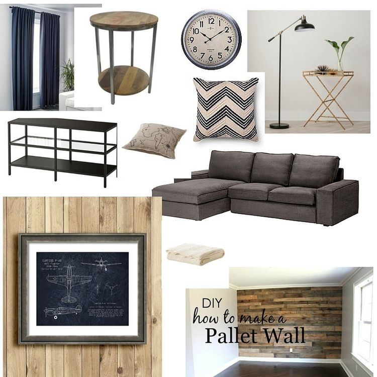A Budget Friendly Bachelor's Pad With Rustic & Industrial