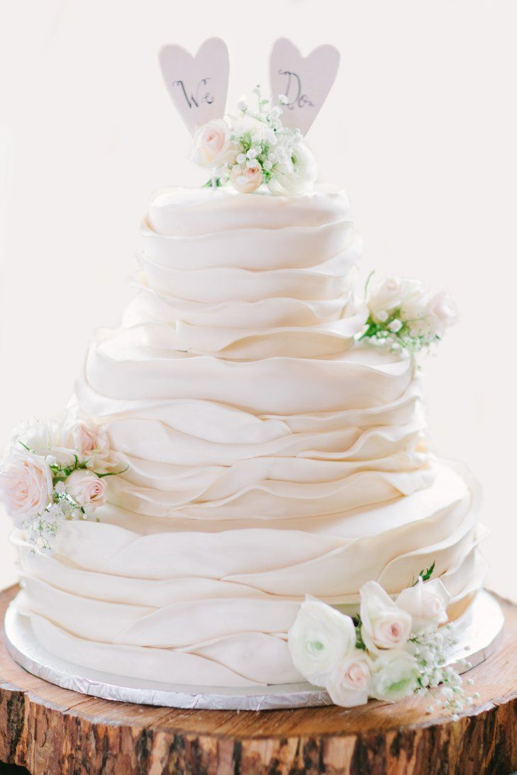 Soft Lace Inspired Cake | Libelle Photography https://www.theknot ...
