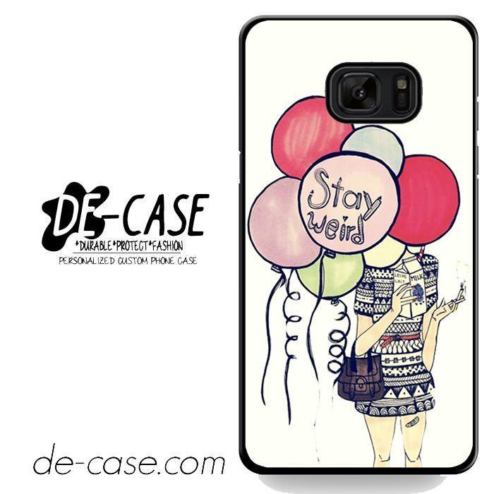 Girl Hide In Weird Balloon DEAL-4682 Samsung Phonecase Cover For Samsung Galaxy Note 7