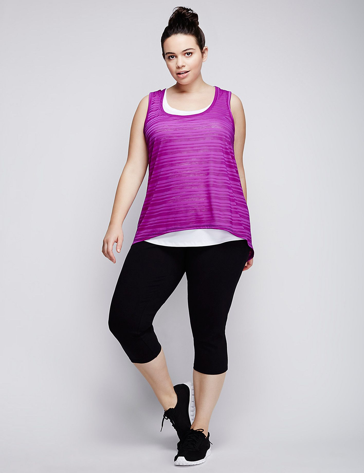672fbe1266e Wicking Layered Active Tank Trendy Plus Size Clothing