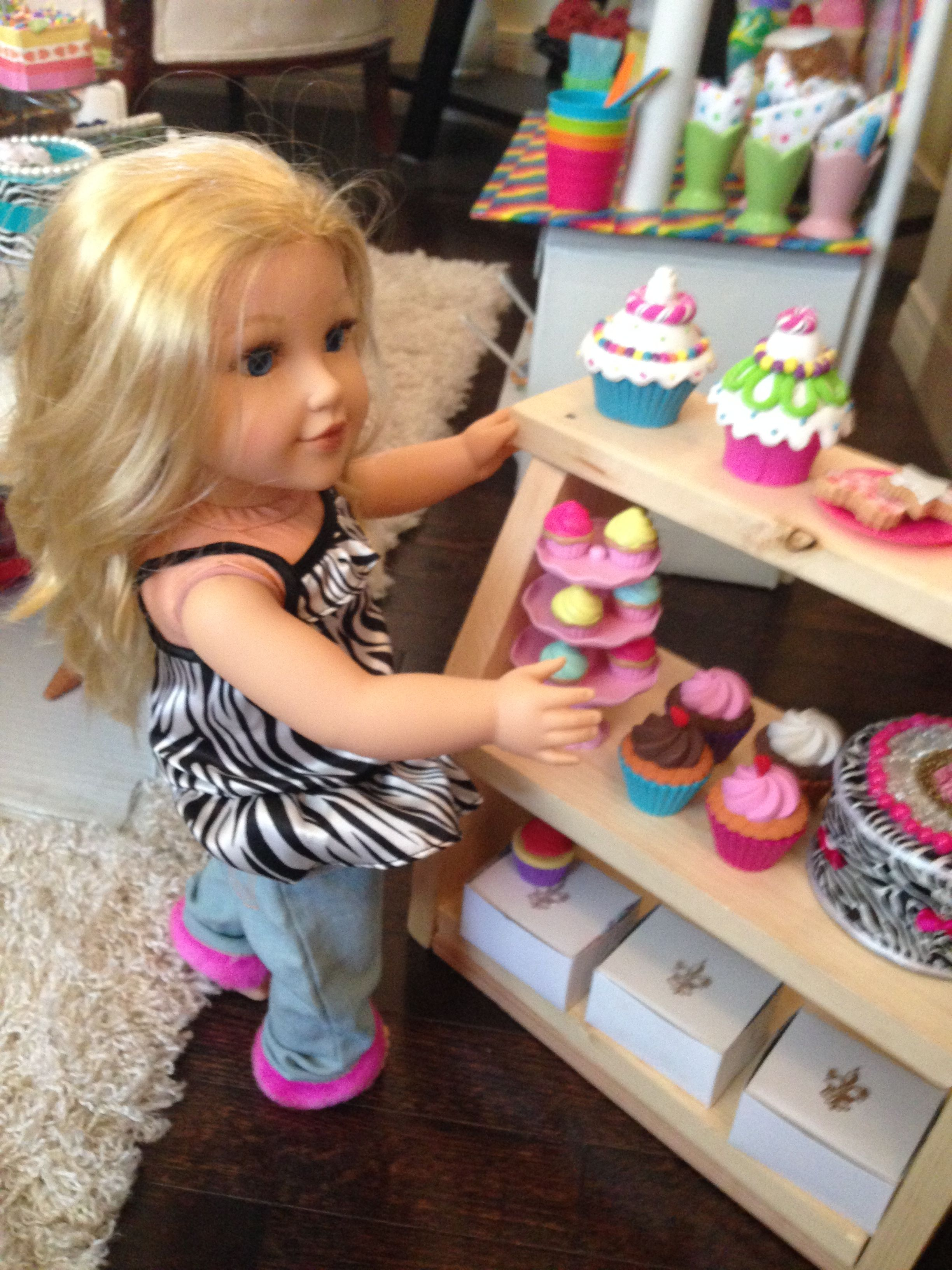 A bakery fit for a doll american girl crafts american
