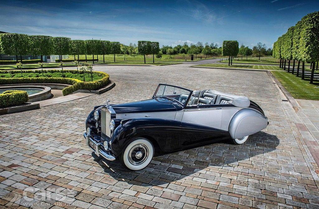 1952 Rolls Royce Silver Dawn - inspiration for the new RR Dawn
