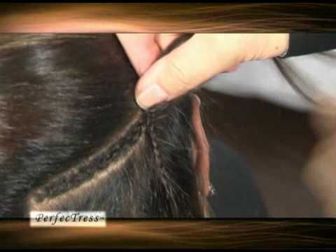 This video will show you how to apply weft hairextensions also this video will show you how to apply weft hairextensions also known as sew in weave or sewing hair weave this weft from perfectress does not shed or pmusecretfo Choice Image