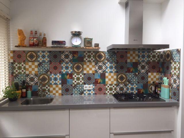 Portugese Tegels Patchwork : Portugese tegels voor de keuken van designtegels patchwork