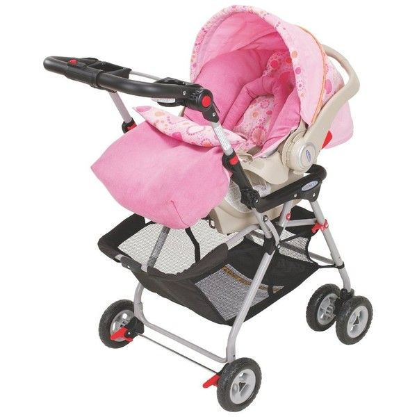 Graco SnugRider Infant Car Seat Stroller Frame (4.245 RUB) ❤ liked ...
