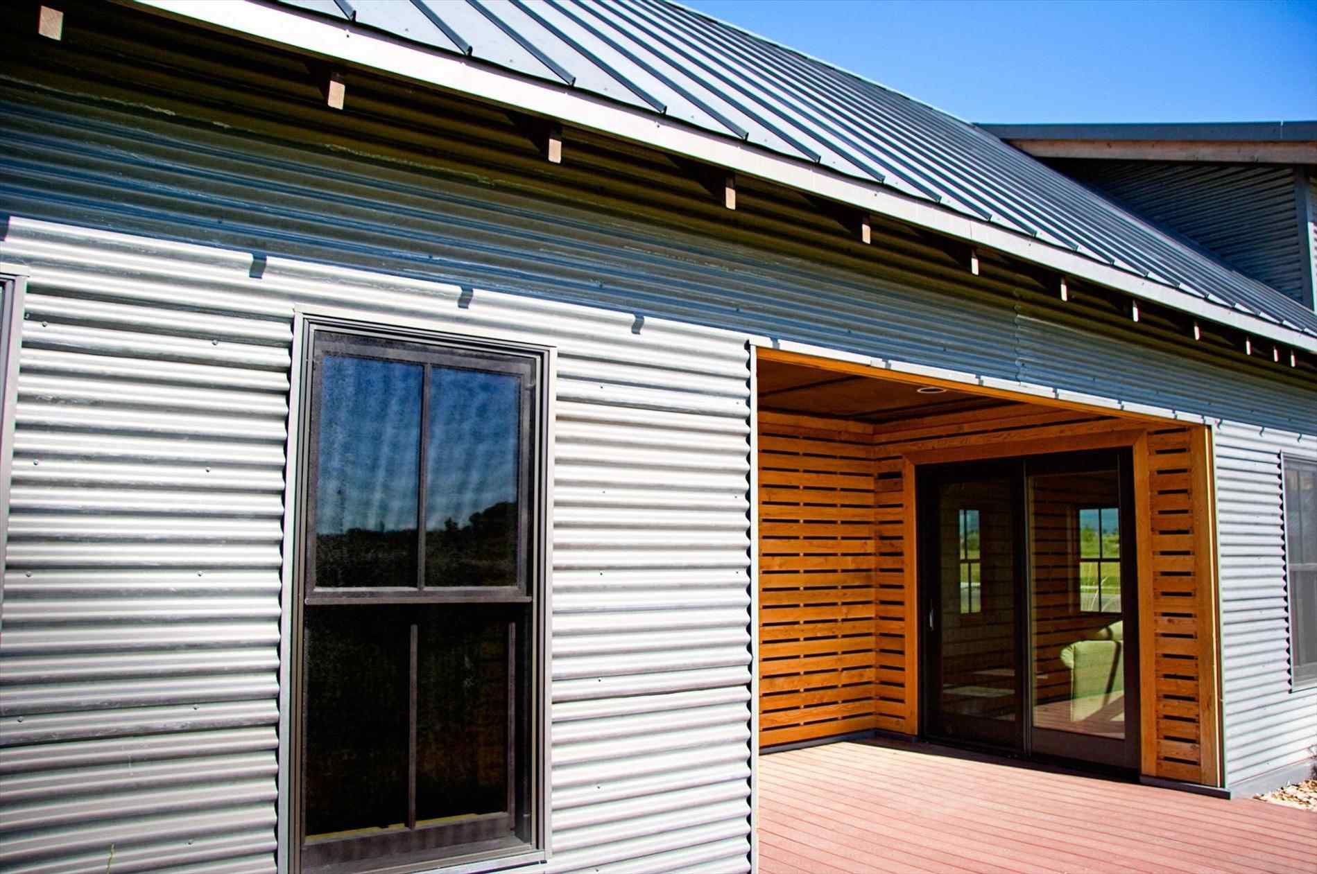 Our Steel Roof Color Copper Penny Installed By Parraghi S Roofing And Sheet Metal Croswell Michigan Metal Roof Colors Metal Roof Copper Metal Roof