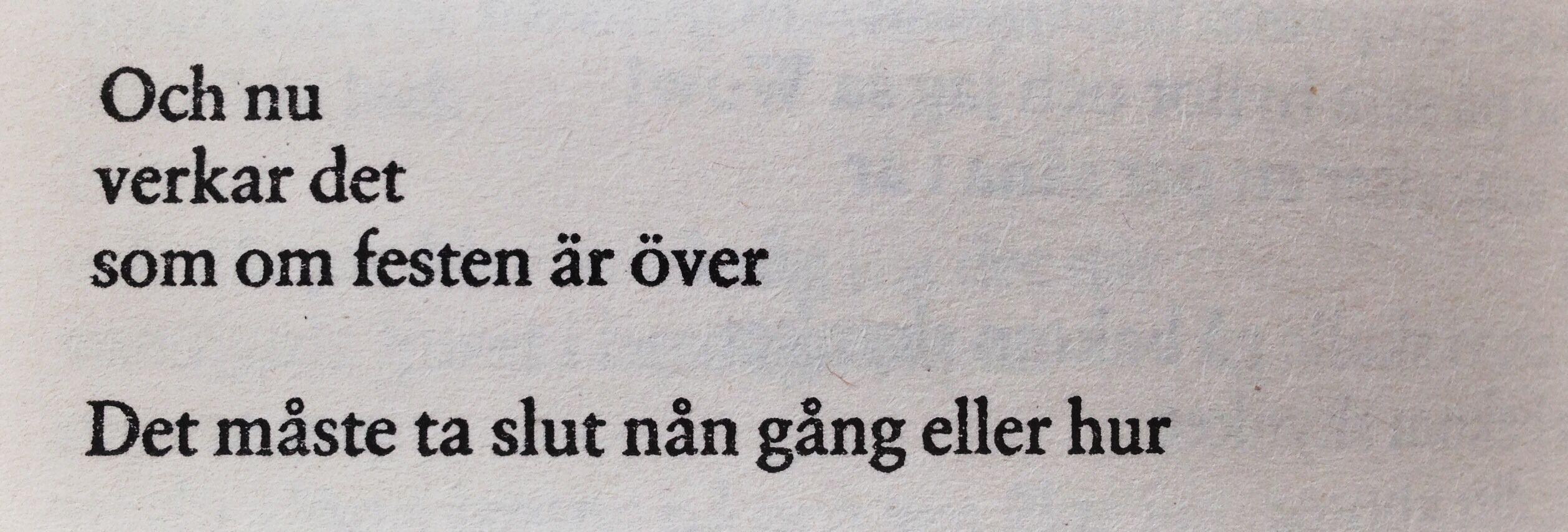 Ulf Lundell Citat