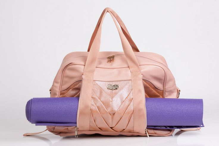 49b0ade2f1a ballerina yoga mats   Pleated Pocket Carry-all Gym Bag in Ballet Pink! Yoga  mat holder with .