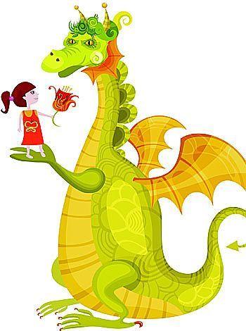 cuentos de dragones - Buscar con Google | dragones | Chouette