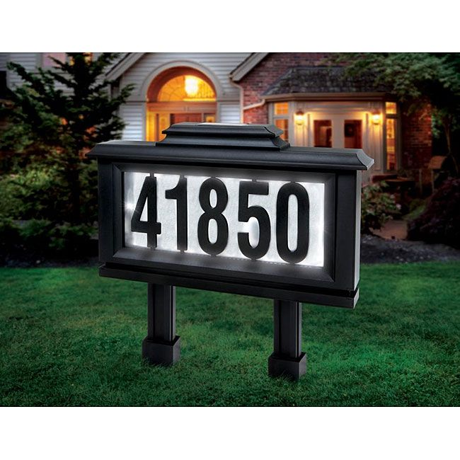 House Number Yard Signs Google Search