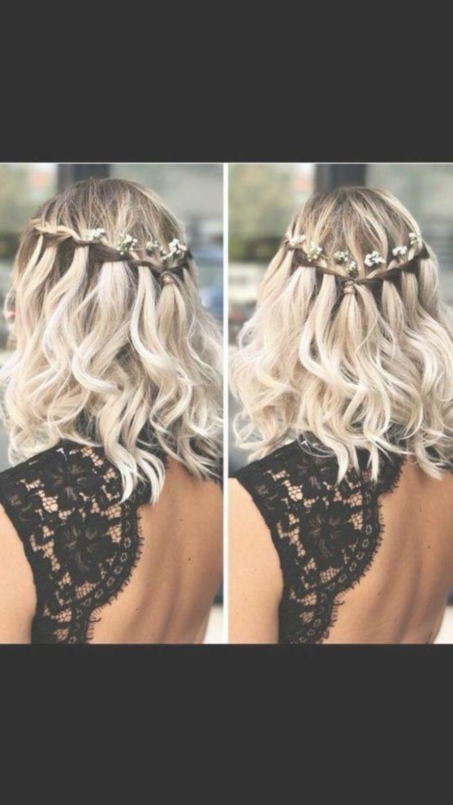 Hochzeitsfrisuren für kurzes bis mittellanges Haar  frisuren